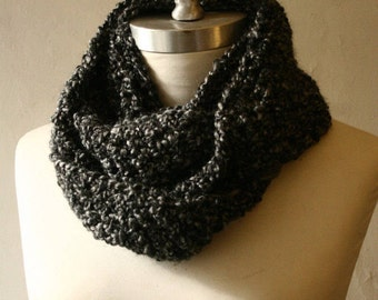 The Signature Series Infinity Scarf (Mini)   Charcoal