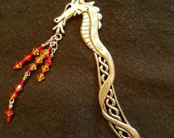 Dragon Fire Bookmark
