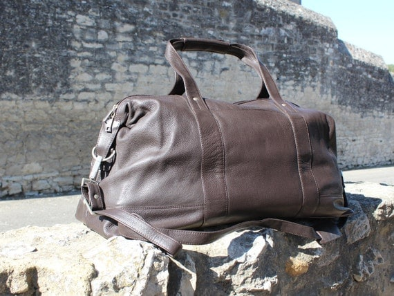Leather weekender, leather duffle bag, gym bag cabin bag black leather duffle brown leather weekender ,