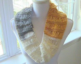 Womens Cowl, Knitted Cowl, Teen Girls Cowl, Cowl, Trendy Cowl, Trendy Knit Cowl