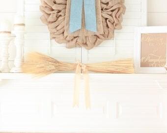Fall Wreaths for Front Door Wreaths, Mantel Decor, Door Decor