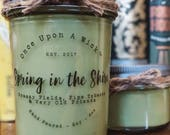 Spring in the Shire | Lord of the Rings Inspired Bookish Soy Candle