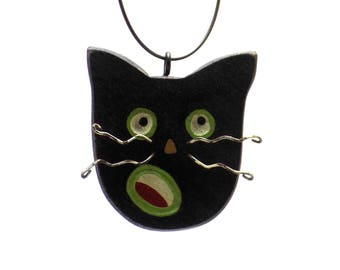 Cat, Black Cat, Black Cat Finds, Cat Finds, Black Cat Decor, Black Cat Trends, Cat Trends, Halloween Finds, Christmas Finds, Cat Ornament