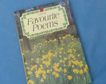 Favourite Poems - Vintage Ladybird Book Series 831 - 85p - 1st Edition 1984 - Glossy Covers