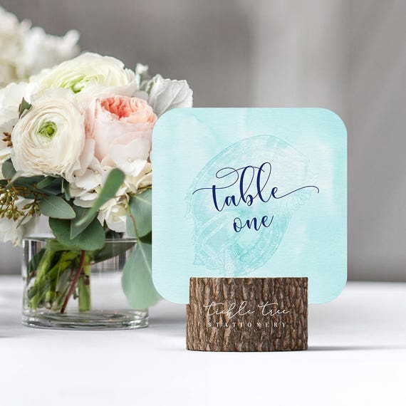 Table Numbers - Beach Side (Style 13200)