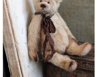 Classic Teddy bear Gabriel or Bywell  19 cm OOAK