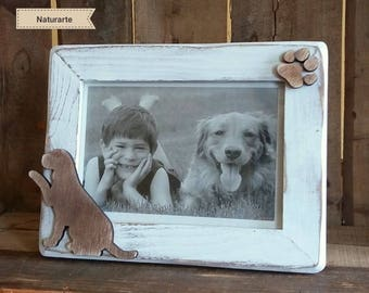 """Picture Frame """"Dog with Paw"""""""