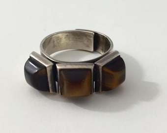 Bold 1960's David Anderson Ring Modernist