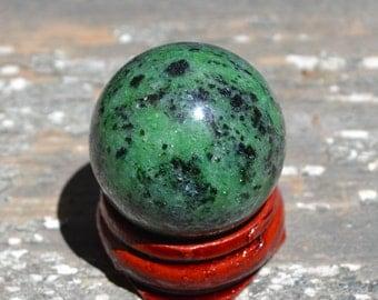 Kambaba jasper sphere for meditation  HP095