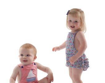 Bailey Pattern / Sunsuit Pattern / Boy's Pattern / Girl's Pattern /  by Children's Corner  #294
