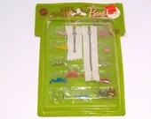 Barbie Teen Fashion Paks Sewing Notions 1960s Vintage Teen Fashion Doll Zipper Belt Buckles Buttons Mattel Opened Original Package