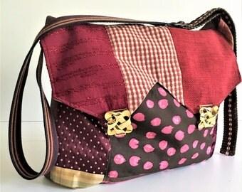 Messenger Bag, Messenger Purse, Messenger Tote, Computer Bag, Large Bag, Recycled Bags, Crossbody Bag, Laptop Bag, Book Bag, School Bag