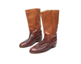 Vtg Mens Frye Boots 10.5