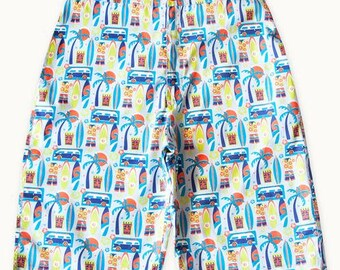 Surfers Life Cotton Shorts