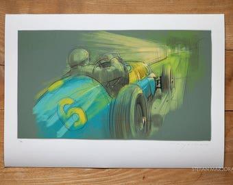 Ferrari 166 FL Print
