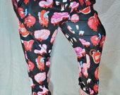 Organs Pajama Pants! Stretchy & Comfy Jogger Style Pants with Drawstring and Pockets