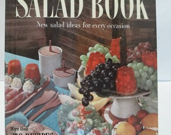 Vintage Better Homes and Gardens Salad Cookbook 1958
