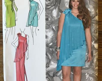 UNCUT Misses' Dress Sewing Pattern Simplicity 1657 Bridesmaid Dress, Wedding Dress, Prom, Formal Dress, Evening Dress Size 8-10-12-14-16