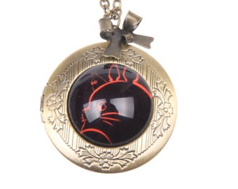 Totoro Necklace, Totoro locket, 2020m