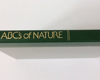 Reader's Digest ABC's of Nature book from 1984