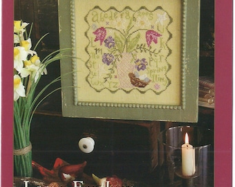 KIT - Spring Fling by Blackbird Designs - Loose Feathers Club #13 - OOP Kitted Cross Stitch Pattern