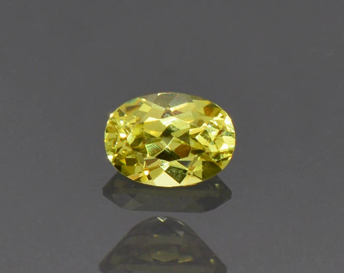 Beautiful Yellow Green Grandite Garnet Gemstone from Mali 1.08 cts.