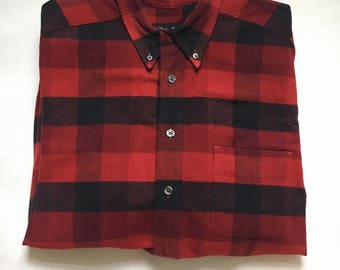 Authentic Vintage Flannel ALL SIZES Grunge Flannel Vintage Flannel Hipster Flannel