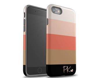 iPhone 7 Case, Monogram, iPhone 6 Case, iPhone 7 Plus Case, iPhone X Case, Personalized Case, Galaxy S8 Case, Galaxy S8 Plus Case