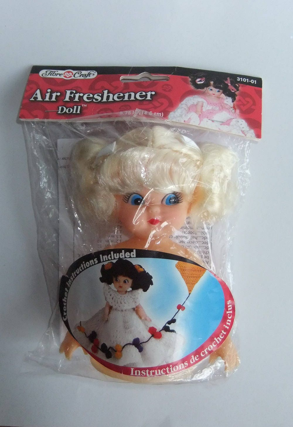 Fibre craft air freshener dolls - Sold By Michiegoodsny