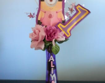 Minion1st Birthday Centerpiece