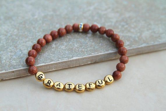 Grateful   Vision Bead Bracelet