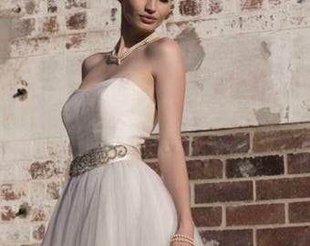 Strapless wedding dress 'Halo'
