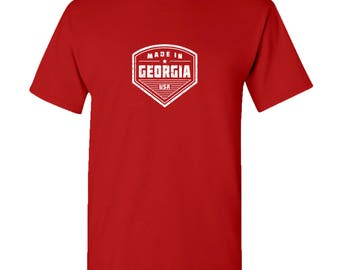 Made in Georgia T Shirt - Red