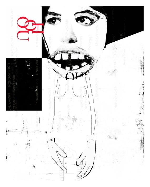 illustration, urban, contemporary, print, portrait, wall art, graphic art