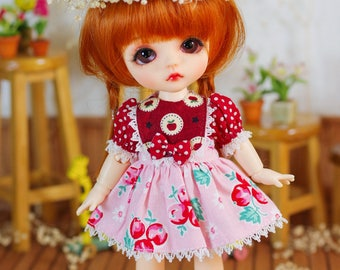 Lati Yellow/ Pukifee - Summer Petals Dress - CherryDress