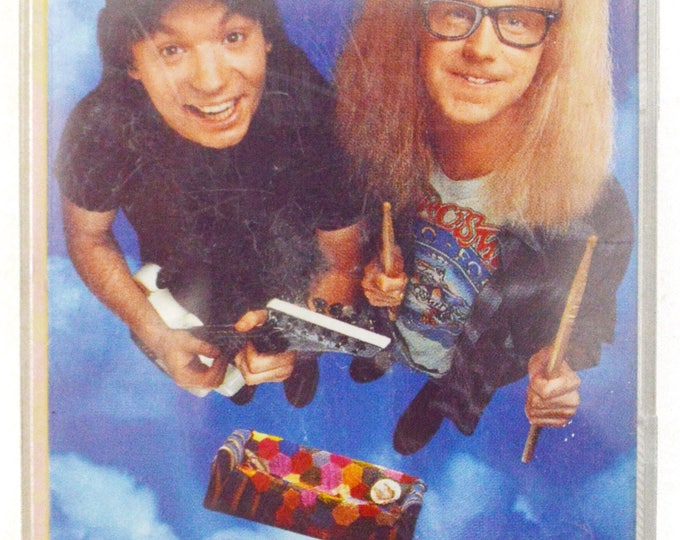 Vintage 90s Wayne's World Music From the Motion Picture Album Cassette Tape