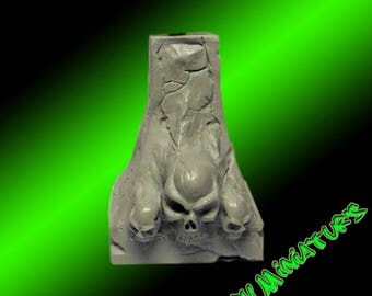 Resin Skull Base for bust/miniatures by Garry Miniatur's