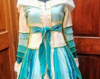 Agatha The Aqua Coat