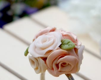 Pink Flowers ring