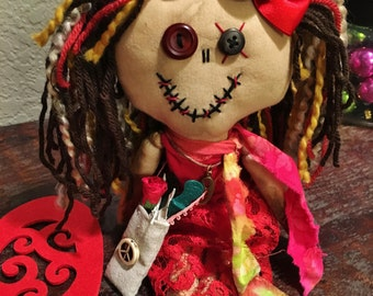Shabby Charlotte Zombie Doll - Finn