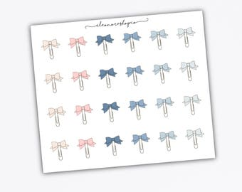 BOW PAPER CLIPS