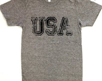 USA, Independence Day, American, Patriotic, Graphic Tee, July 4th, Fourth of July
