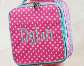 Personalized Dottie Lunch Box