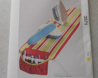 3571 Ironing Board Cover, Caddy, Pressing Ham, Sleeve Roll  ~ Pattern from Kwik Sew