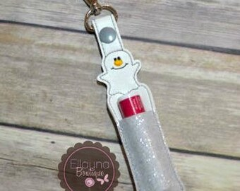 Lip Balm, Chapstick, Flash Drive, USB Drive Holder - Ghost