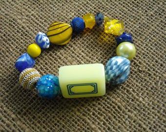 Mahjong Tile Bracelet - Jesse James Beads - Oriental Jewelry - Gift Idea - Mahjong Jewelry - Mahjong Present - Holiday Gift