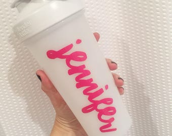 Personalized Name Shaker Decal