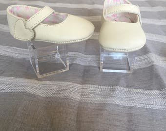 Baby Girl Baptism Shoes