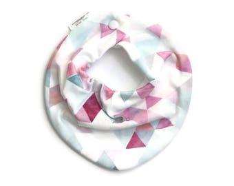 Baby bib, baby bandana, scarf bib, baby shower gift, baby girl bib, drool bib, bandana, triangle bib, baby girl bandana bib, drool bibs
