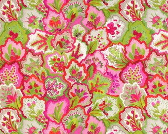 One or Both Sides - Manuel Canovas Persane Rose Indien Pillow Cover
